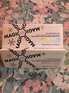 Magic Snow Cream(AprilSkin) Authentic