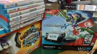 🚚 Used Wii U (Local Set) with accessories and games