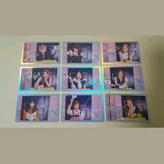 "[PO] TWICE ""Signal Hologram"" Photocard Set"