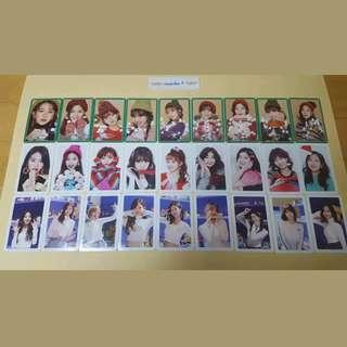 "[PO] TWICE ""Merry and Happy"" Photocard Set"