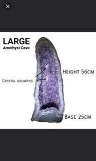Amethyst Geode Cave LARGE