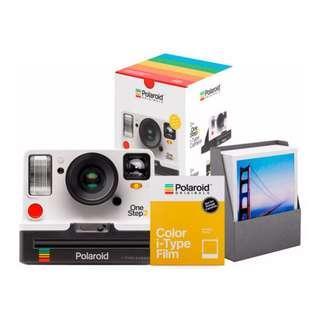 🚚 Polaroid OneStep 2 VF White Everything Bundle