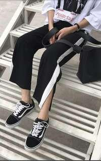 Ullzang stripes pants #NEW99