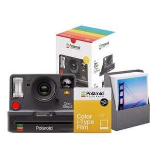 🚚 Polaroid OneStep 2 VF Graphite Everything Bundle