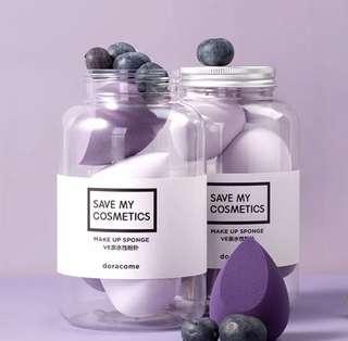 (包順豐) 樽裝美妝蛋 purple