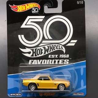 Hot Wheel 50th Favorutes 69 Camaro