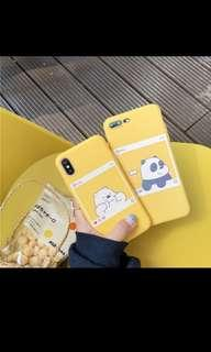 We Bare Bears Samsung S8 Phone Case