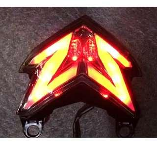 LED integrated Tail light for Kawasaki ZX636R and Z800 (2013-2017)