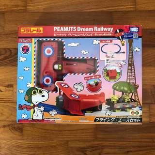 Peanuts Dream Flying Ace Set Snoopy Plarail Takara Tomy Train