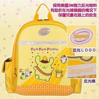🚚 【IMPACT】怡寶輕量護脊書包(小)-布丁狗系列-黃色(贈送彩色鉛筆24支入)