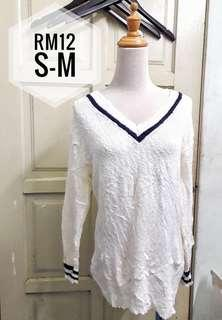 Knitted Top white