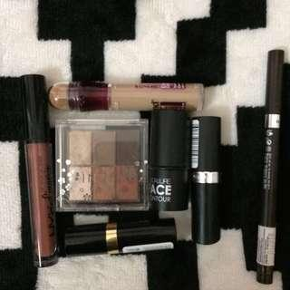 Makeup bundle Nyx Maybeline Revlon In2it rimmel #new99