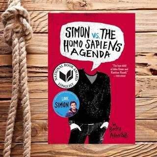 FREE! Simon vs. The Homo Sapiens Agenda by Becky Albertalli
