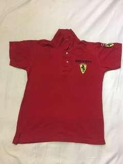 Ferrari Polo T-Shirt