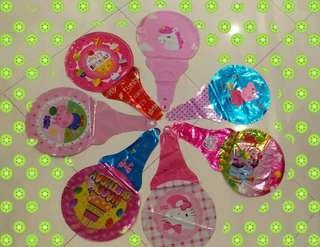 Party Handheld Balloons Bundle (10pcs Girl or Boy designs)