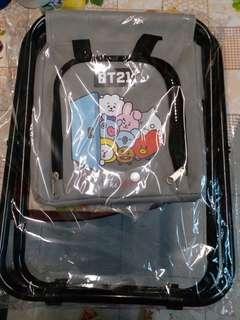 全新 BT21 限量保溫袋連摺椅 $100