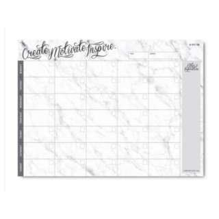 THEPAPERSTONE THE PAPER STONE A4 PLANNER - CREATE MOTIVATE MARBLE