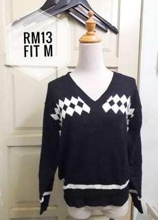 Knit top  black