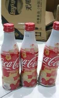 2019 Japan sakura coca-cola aluminium bottles