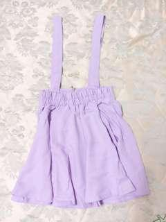 紫色吊帶裙