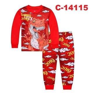Kids Pyjamas Dinosaurs 🦕 I