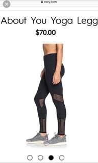 BNIP Roxy yoga leggings /pants