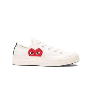 6d0c0123ac01 Commes Des Garcons x Converse Sneakers