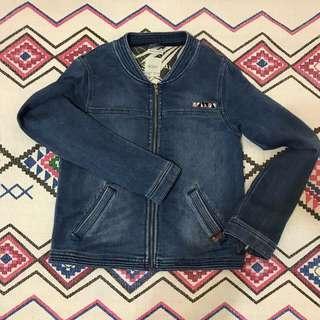 🌵🌺🌵- Roxy牛仔棉質夾克