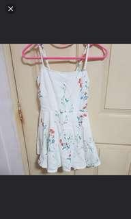 BNIP floral dress with inner shorts