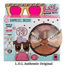 LOL Surprise pets K9, Cottontail, Kitten