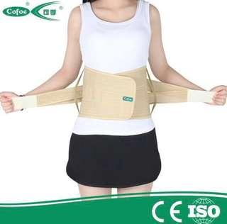 Medical waist and back support belt
