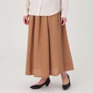 MUJI French Linen Skirt