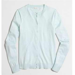 JCREW XS Cotton Cardigan NWT