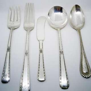 Solid Stirling Silver Kitchen Ware 925 solid Silver