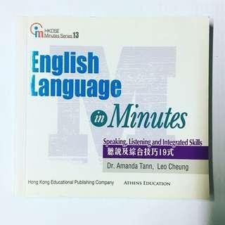 全新English Language in Minutes Speaking, Listening and Integrated Skills 聽說及綜合技巧19式