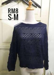 Lace Top knitted
