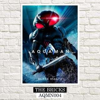 """Free Delivery Buy 1 Take 1 Large Aquaman Poster 13"""" x 19"""" Inches"""