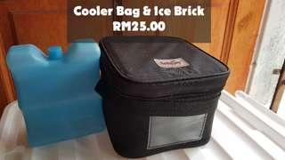 Tollyjoy Cooler Bag & Ice Brick