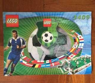 Lego Soccer 3409 (authentic)