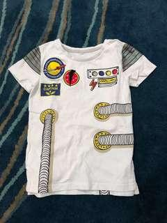 Cotton on kids Space Rocket Tshirt #NEW99