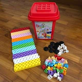 Artec Building Blocks Made in Japan 220pcs with Box