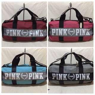 Authentic Pink by VS Duffle Bag