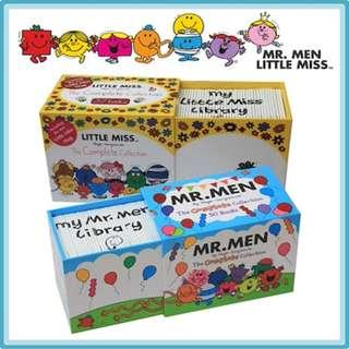 MR MEN + LITTLE MISS COMPLETE COLLECTION - total 87 books