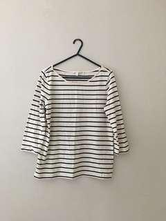 Esprit Stripe Tee Top