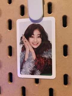 Twice Merry and Happy Jhiyo Photo card