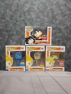 Dragonball Z Limited timing sale funko