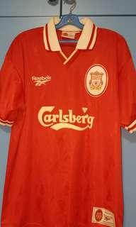 88cfc6082 Liverpool FC Reebok 1996 Jersey