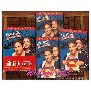 🚚 美劇影集『Lois & Clark:The Adventure of Supermen新超人』第一季絕版DVD~華納兄弟