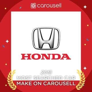 Most Searched Car Make - Honda!