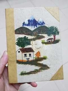 Handmade paper notebook from Nepal